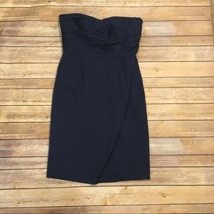 Ann Taylor Navy Blue Cocktail Dress, Size 6